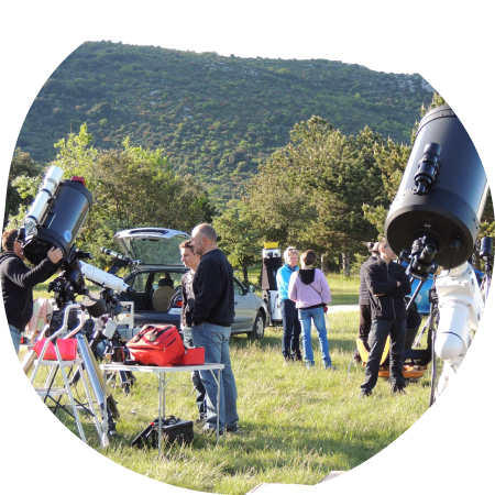 Astronomie - nature-related activities