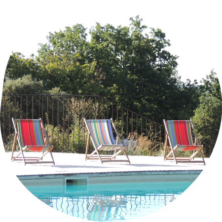 Camping Piscine Ardeche - spacious swimming-pool