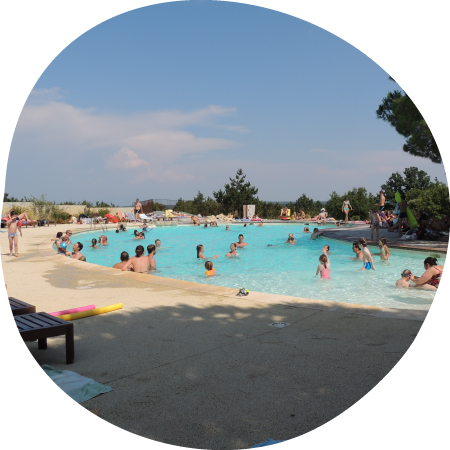 Camping Ardeche Grande Piscine - spacious swimming-pool