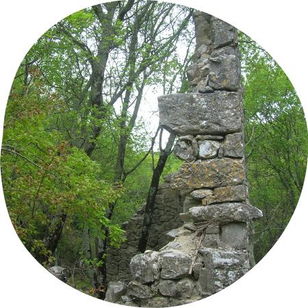 Sentier des 3 moulins à Saint-Remèze