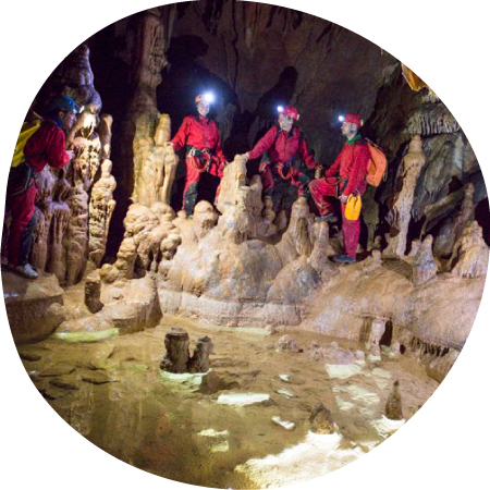 Speleologie en Ardèche