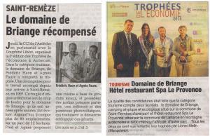 trophee CCI Ardèche Tourisme