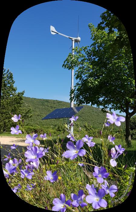 Camping à énergie renouvelable
