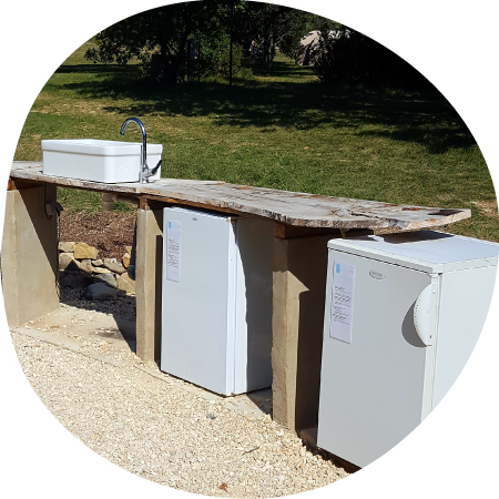 location de frigo - rental fridge in Ardèche