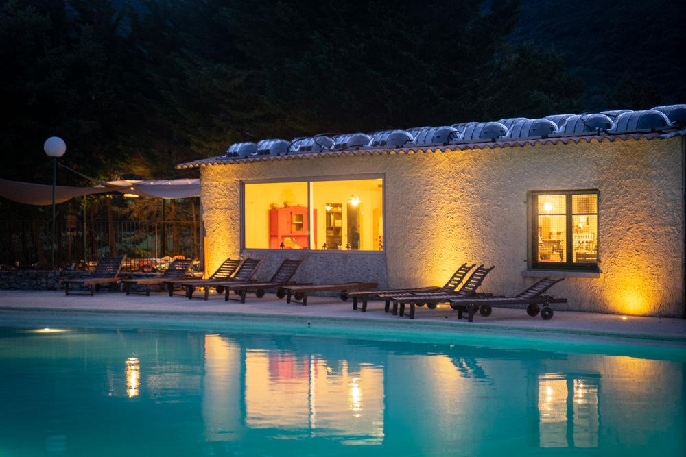 camping en Ardèche avec piscine