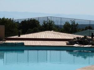 Notre piscine atypique
