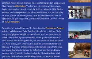 Le Domaine de Briange en allemand