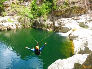Tirolienne-Canyoning-Ardeche