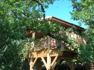 Notre cabane dans les arbres